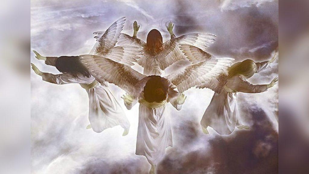 Activa los ángeles de Dios ahora.