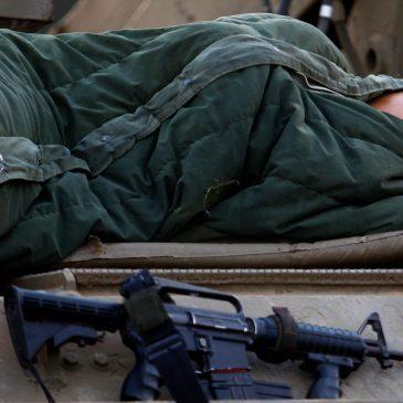 Soldados cristianos durmientes.