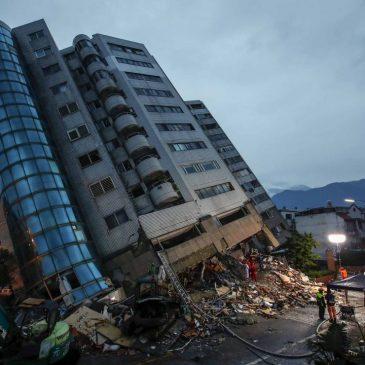 Sólo hay un edificio resistente a los terremotos en la tierra.