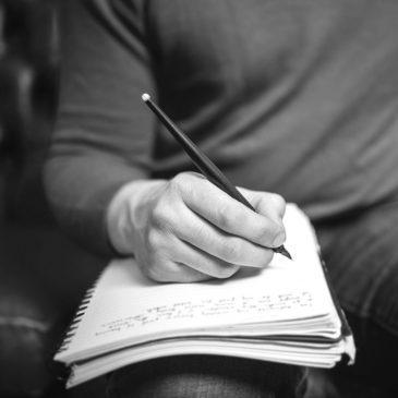 Mi viaje de escribir para Dios