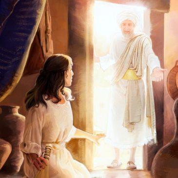Cómo rezan los ángeles de Dios.