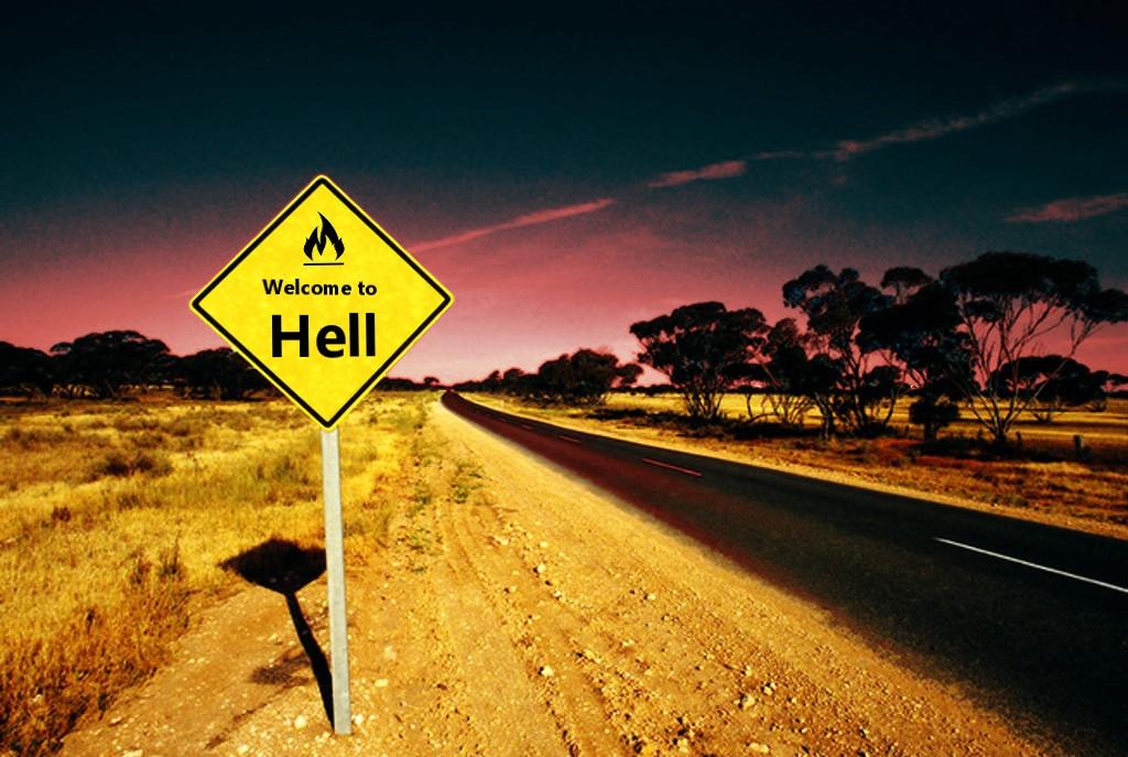 Sitios web que llevan a los cristianos al infierno