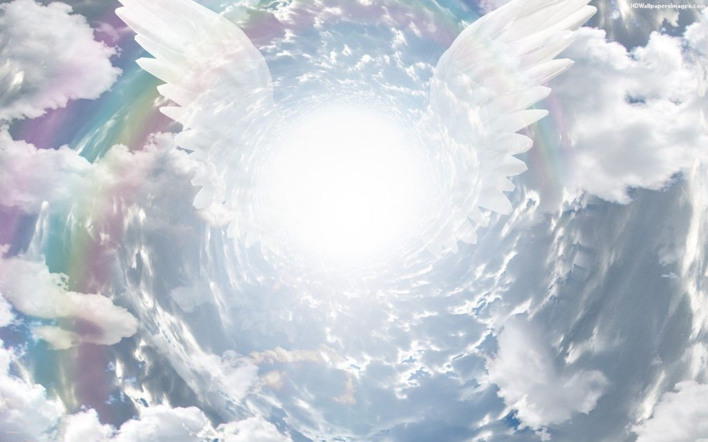 How God's angels sing your church songs.