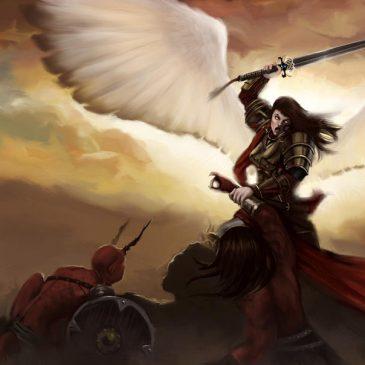Tu oración hace que los ángeles de Dios luchen contra los demonios