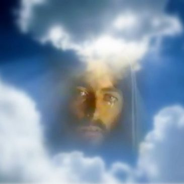 Jesucristo llorando por tu culpa